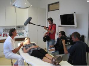 ZDF filmt in Alderma bei Dr. Titzmann